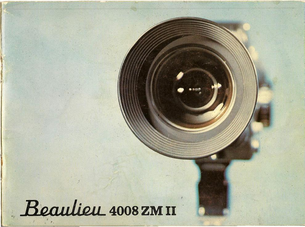 Beaulieu 4008 ZMII Manual en