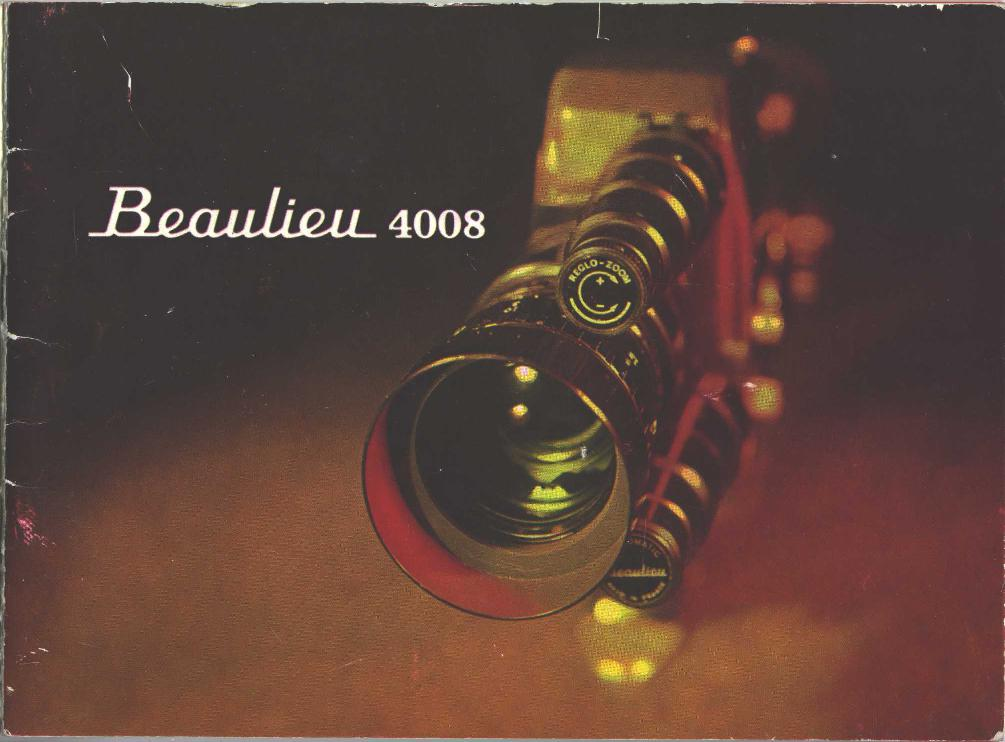 Beaulieu 4008 ZM Manual en