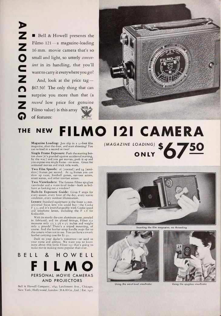 Movie Makers 1934 03 Ad