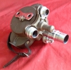 Vintage Bell & Howell 16mm Filmo Spyder Turret Movie Camera with 3 Lenses