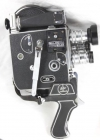 Bolex Paillard H8 camera, Schneider Cinegon 5.5mm, Xenar 38mm & Xenon 13mm lens