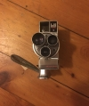 Vintage DeJur Electra 8mm Movie Camera with Film and Case