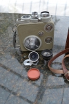 Vintage EUMIG C3 8mm Cine Camera With Brown Leather Case + accessories