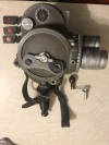 Vintage Bell & Howell 70-DR 16mm Movie Camera Angeneux Lens-Parts Or Restoration