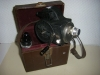 ancienne camera cine emel table diaphragme 2 objectifs som berthiot
