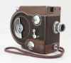 Revere EIGHT (model 77) film camera with 13mm ƒ/2.5 Wollensak-Revere/cine Raptar objective, 1949