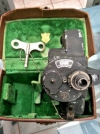 Bell and Howell 16mm Film Camera with case and key. Antique