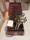 Camera LD 8 Pierre Leveque 8mm vers 1950 + 3 objectifs BERTHIOT + valise cuir