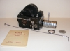 Camera PATHE Webo M Reflex 16 mm zoom Angenieux 17-68mm