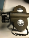 Vintage Bell & Howell Filmo Camera 70 DL 16mm Camera w/3 lenses, case,etc Nice