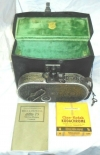 Vintage Bell & Howell Filmo 75 Movie Camera Case and Manual Untested