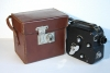 Pathescope 'H' 9.5mm Cine Camera - The Rarer Variable Speed Model + Hide Case.
