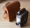 Vintage DEJUR CITATION 8mm ROLL FILM MOVIE CINE CAMERA with Leather Case USA