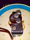 Dejur ELECTRA Automatic 8 mm movie camera with lenses that fit at least two