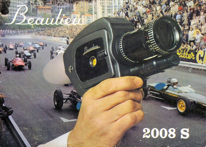 "BEAULIEU 2008 S - ""The super Super-8 camera"""