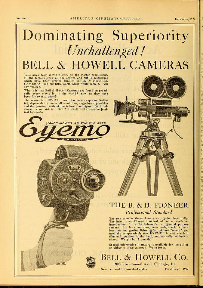 American Cinematographer 1926 12