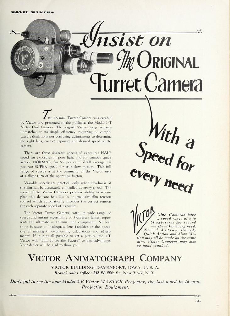 Movie Makers 1928 10 Turret