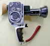 Paillard Bolex Zoom Reflex P2 8mm Movie Camera Pan Cinor Lens Pistol Grip & Case