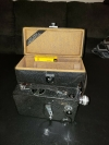 Cine-Kodak Model K 16mm Movie Film Camera w/Case, 25mm F1.9 Lens & New Film