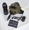 U.S. Army Signal Corps KS-5 (1) 35mm Eyemo Camera Kit w/3 Lenses!