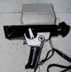 Bolex 150 Super, Super 8 cine camera in case + instructions. Made in Switzerland