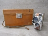 Vintage DeJUR-8 8mm Movie Camera Three Lens Turret With Branded Case