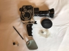 Bolex Paillard P2 Zoom Reflex Cine Camera With Pistol Grip & Case